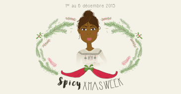 Calendrier de l'Avent 2015 par Mon petit balcon : spicy xmas week